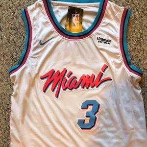 Dwayne Wade Miami Vice Jersey